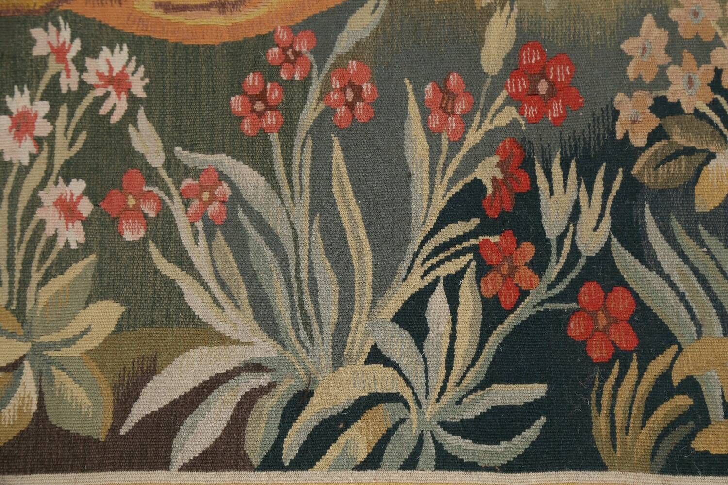 All-Over Pictorial Tapestries Oriental Area Rug 6x8 image 9