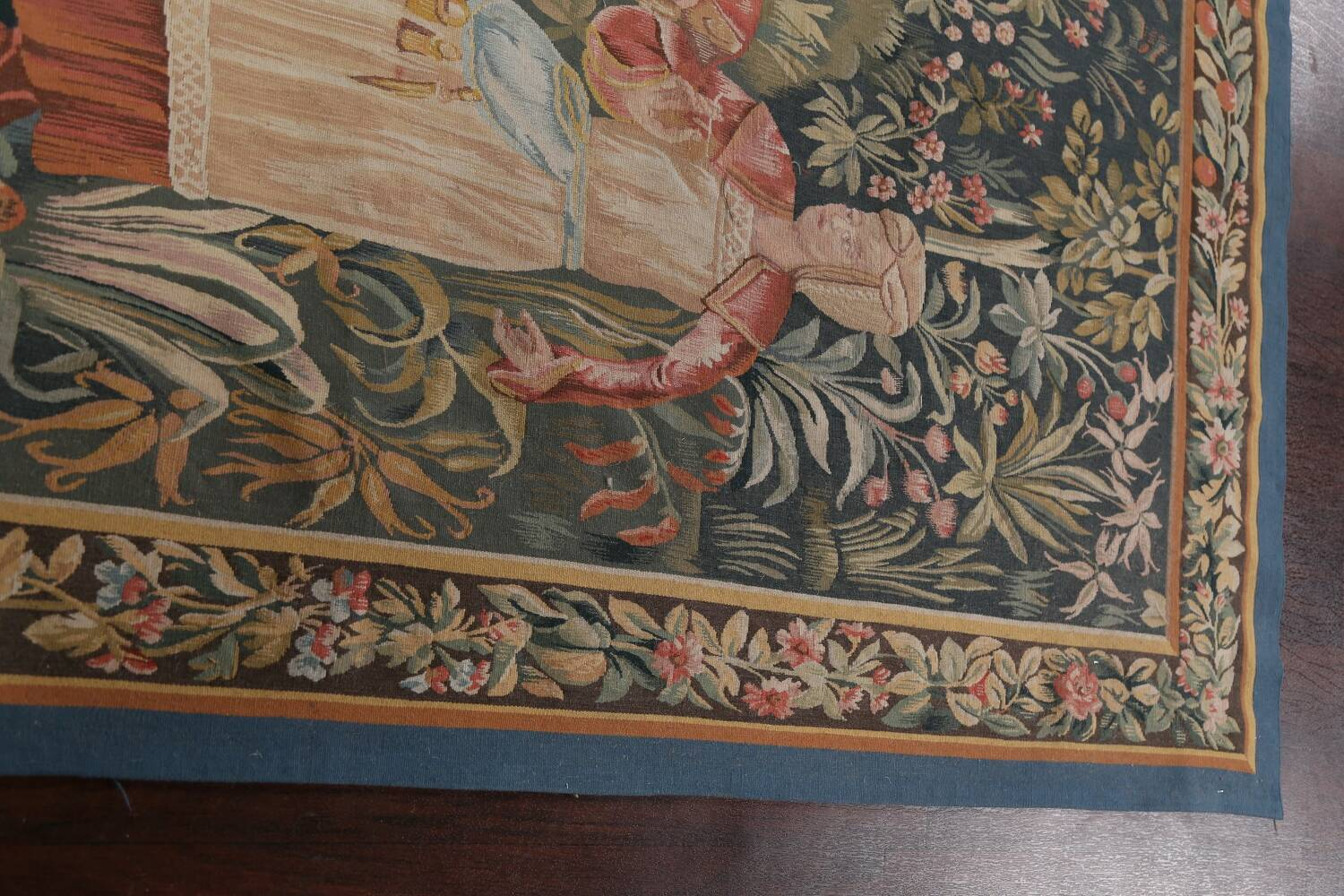 All-Over Pictorial Tapestries Oriental Area Rug 6x8 image 12