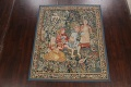All-Over Pictorial Tapestries Oriental Area Rug 6x8 image 2