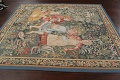 All-Over Pictorial Tapestries Oriental Area Rug 6x8 image 13