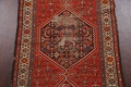 Antique Vegetable Dye Malayer Persian Runner Rug 3x11 image 4