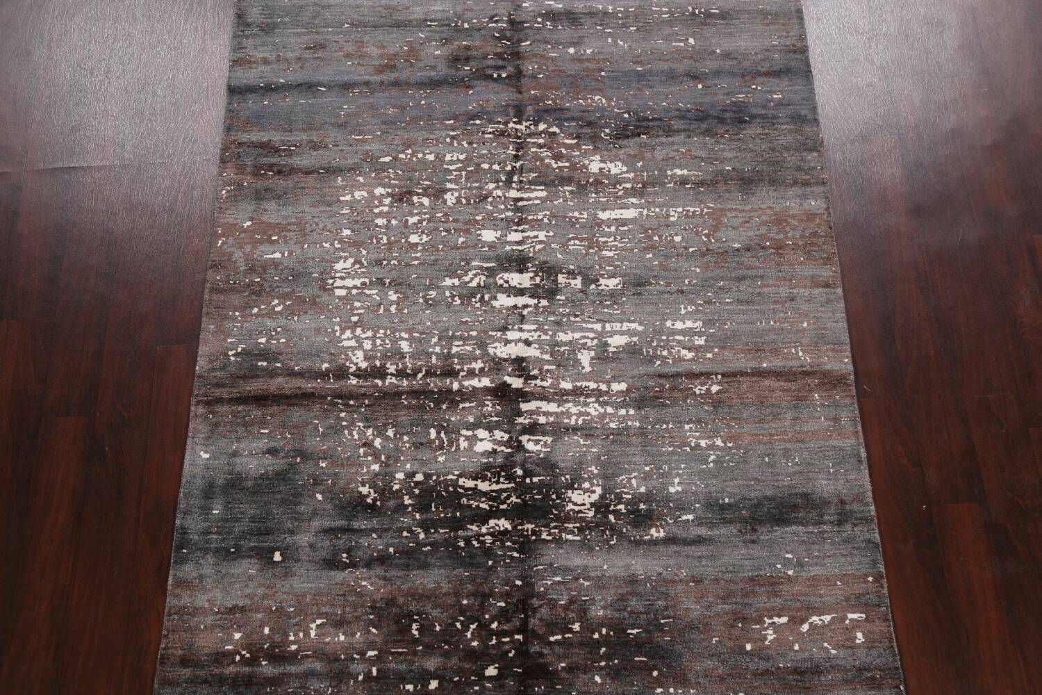 Artistic Contemporary Abstract Oriental Area Rug 5x7 image 3