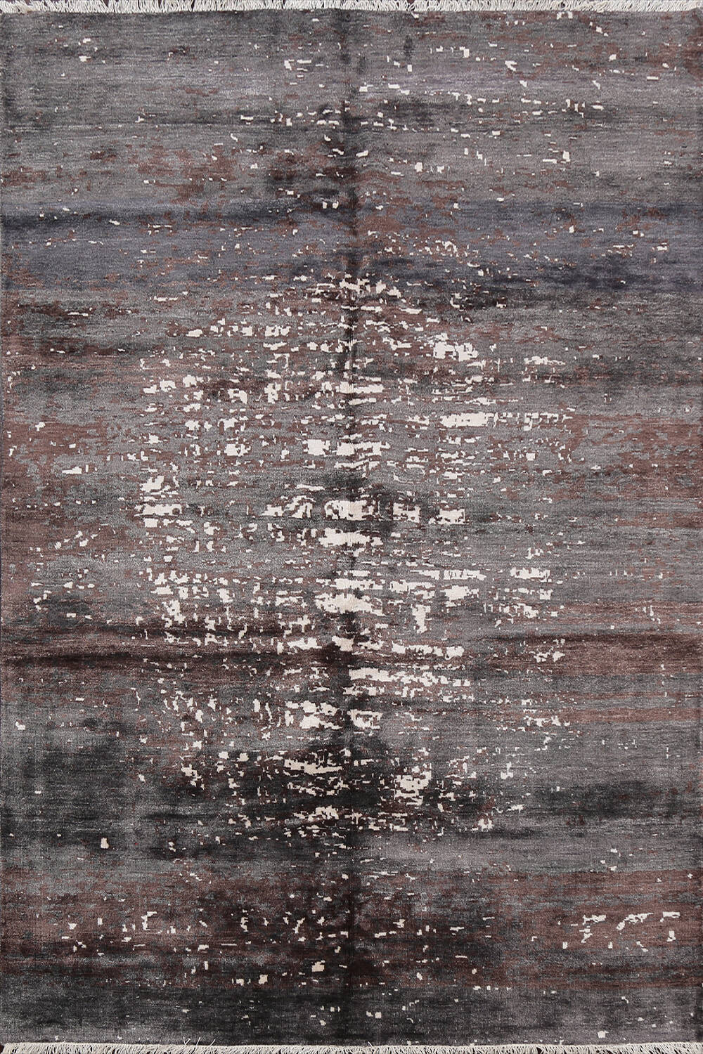 Artistic Contemporary Abstract Oriental Area Rug 5x7 image 1