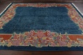 Vegetable Dye Floral Art Deco Nichols Oriental Area Rug 8x10 image 13