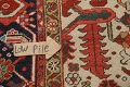 Pre-1900 Antique Vegetable Dye Heriz Serapi Persian Area Rug 10x13 image 13