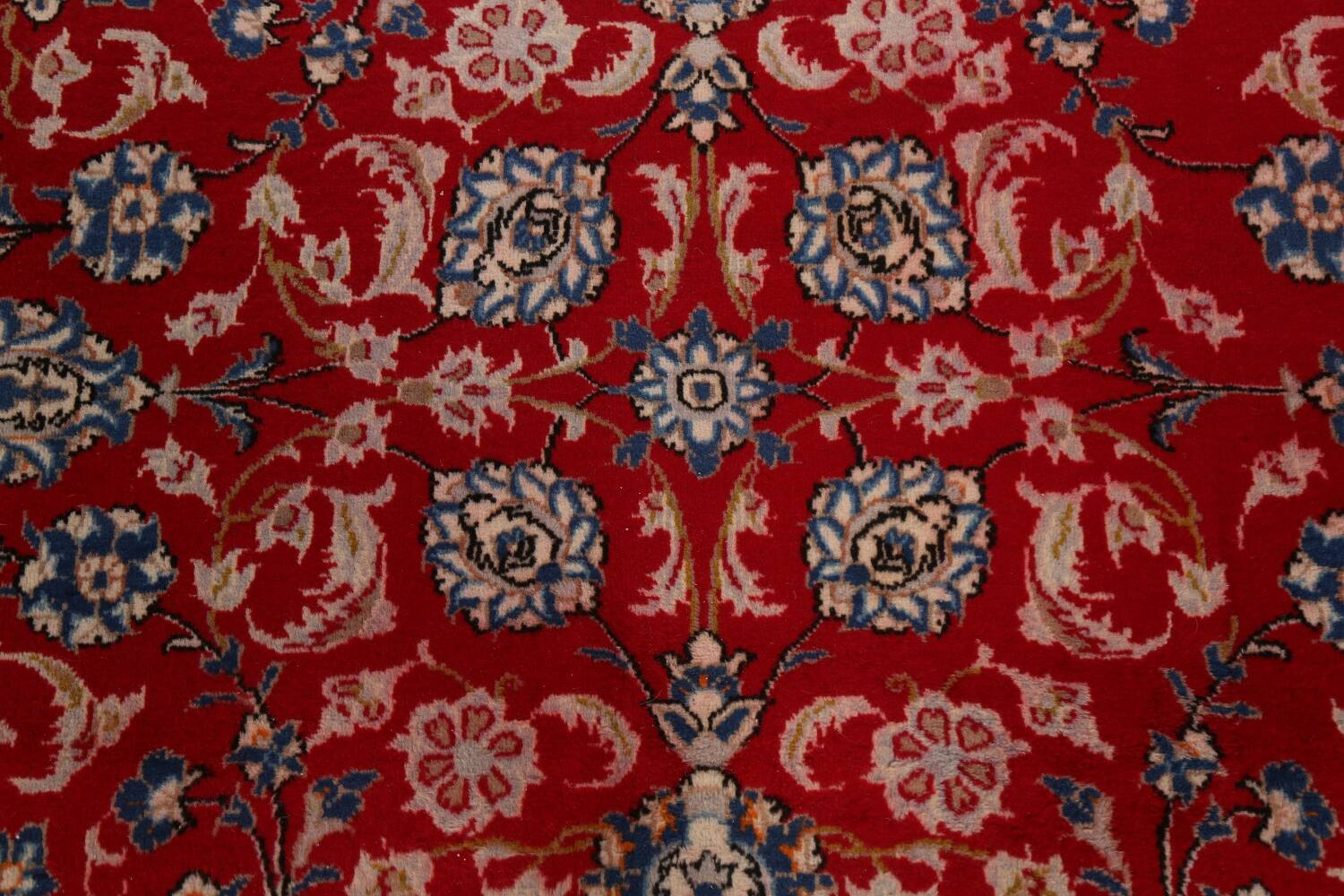 All-Over Floral Najafabad Persian Area Rug 8x13 image 11
