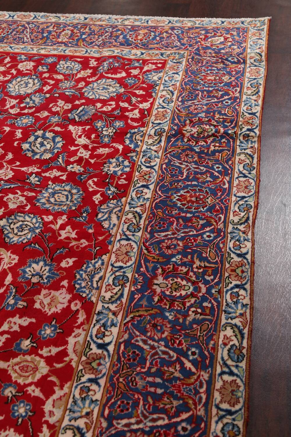 All-Over Floral Najafabad Persian Area Rug 8x13 image 14