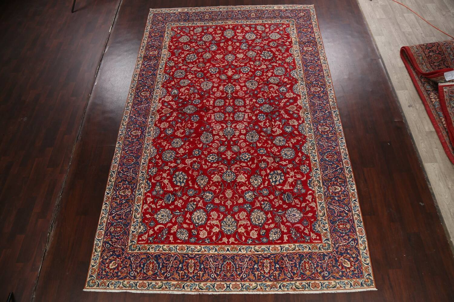 All-Over Floral Najafabad Persian Area Rug 8x13 image 16
