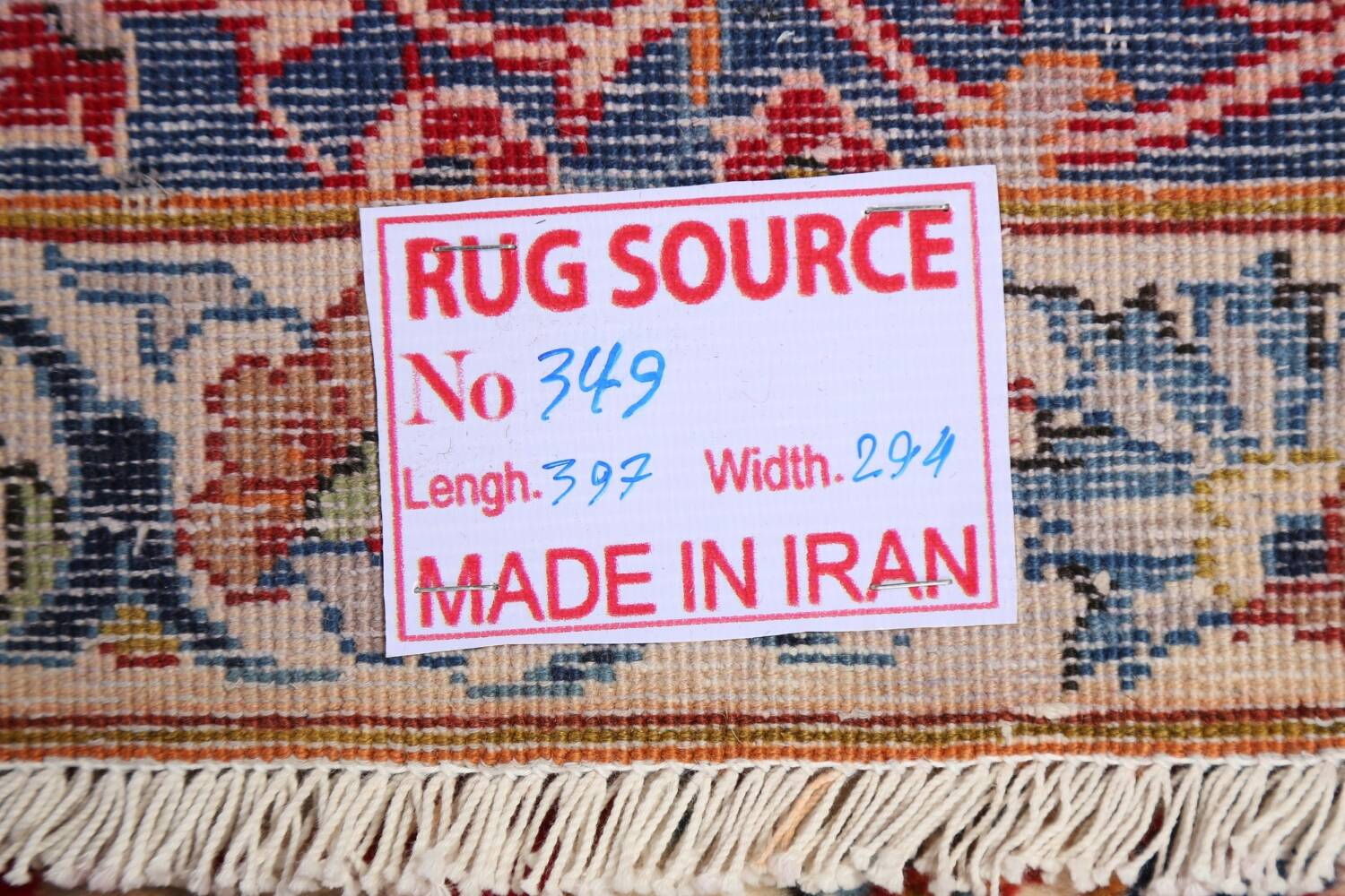 All-Over Floral Najafabad Persian Area Rug 8x13 image 22