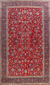 All-Over Floral Najafabad Persian Area Rug 8x13 image 1
