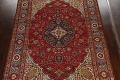 Floral Red Tabriz Persian Area Rug 8x12 image 3