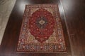 Floral Red Tabriz Persian Area Rug 8x12 image 2