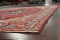 Floral Red Tabriz Persian Area Rug 8x12 image 6
