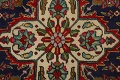 Floral Red Tabriz Persian Area Rug 8x12 image 12