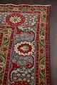 Floral Red Tabriz Persian Area Rug 8x12 image 14