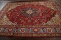 Floral Red Tabriz Persian Area Rug 8x12 image 17
