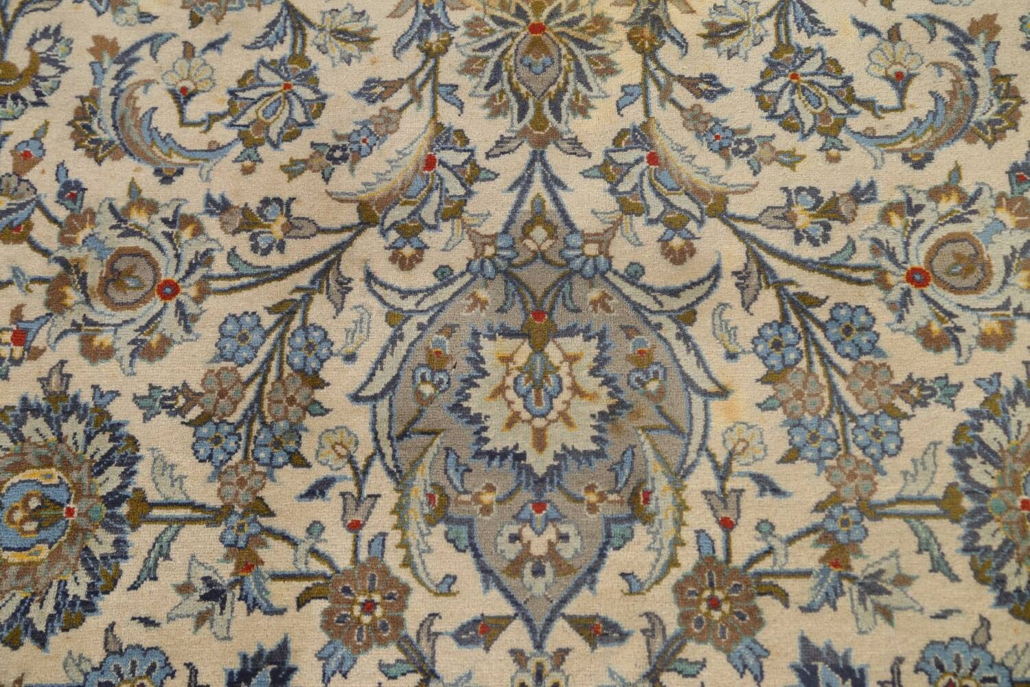 Traditional Floral Kashan Persian Area Rug 13x20 image 11