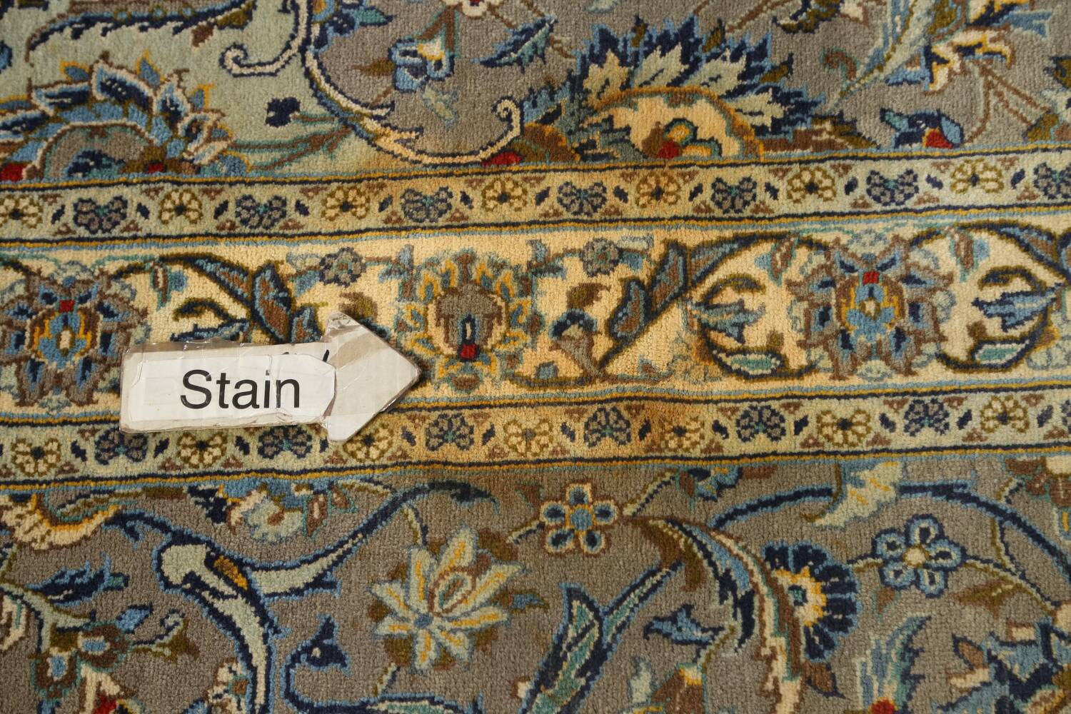 Traditional Floral Kashan Persian Area Rug 13x20 image 14