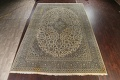 Traditional Floral Kashan Persian Area Rug 13x20 image 22