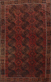 Antique Tribal Balouch Oriental Area Rug 8x11 image 1