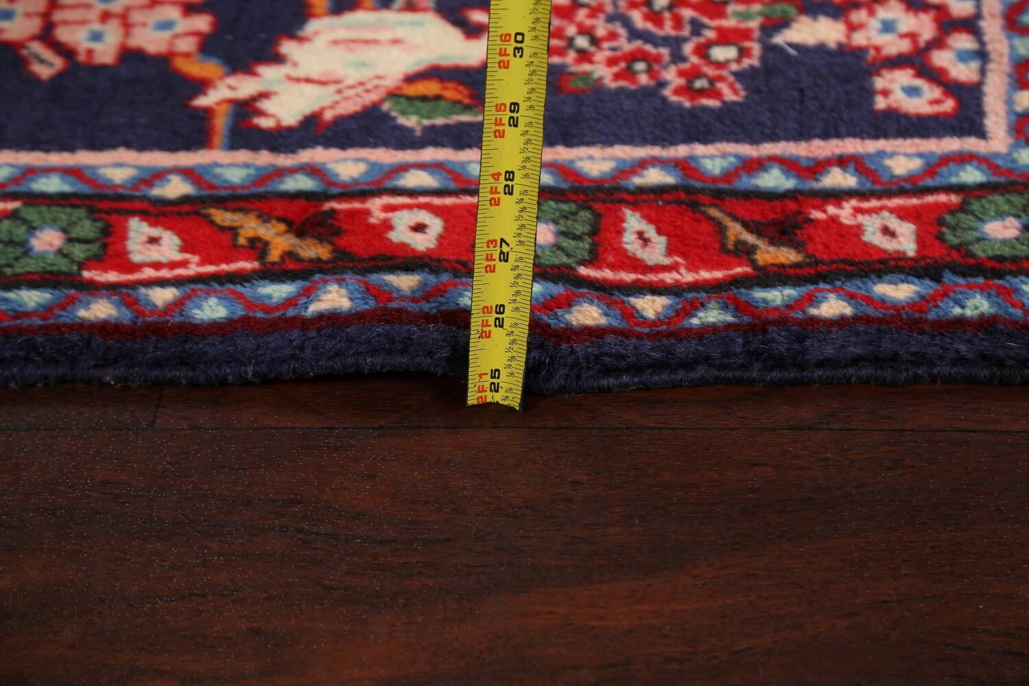 Pictorial Kashmar Persian Area Rug 3x5 image 18