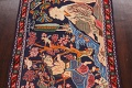 Pictorial Kashmar Persian Area Rug 3x5 image 4