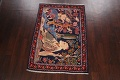 Pictorial Kashmar Persian Area Rug 3x5 image 15