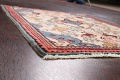 Animal Pictorial Vegetable Dye Senneh Persian Area Rug 3x5 image 6