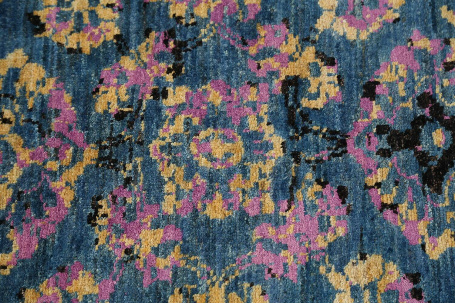 Artistic Modern Abstract Oriental Area Rug 6x6 image 9