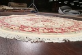 Round Vegetable Dye Royal Tabriz Oriental Area Rug 6x6 image 6