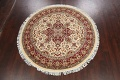 Round Vegetable Dye Royal Tabriz Oriental Area Rug 6x6 image 11