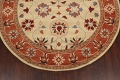Floral Round Rug 8x8 image 5