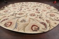 Floral Round Rug 12x12 image 9