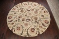 Floral Round Rug 12x12 image 10