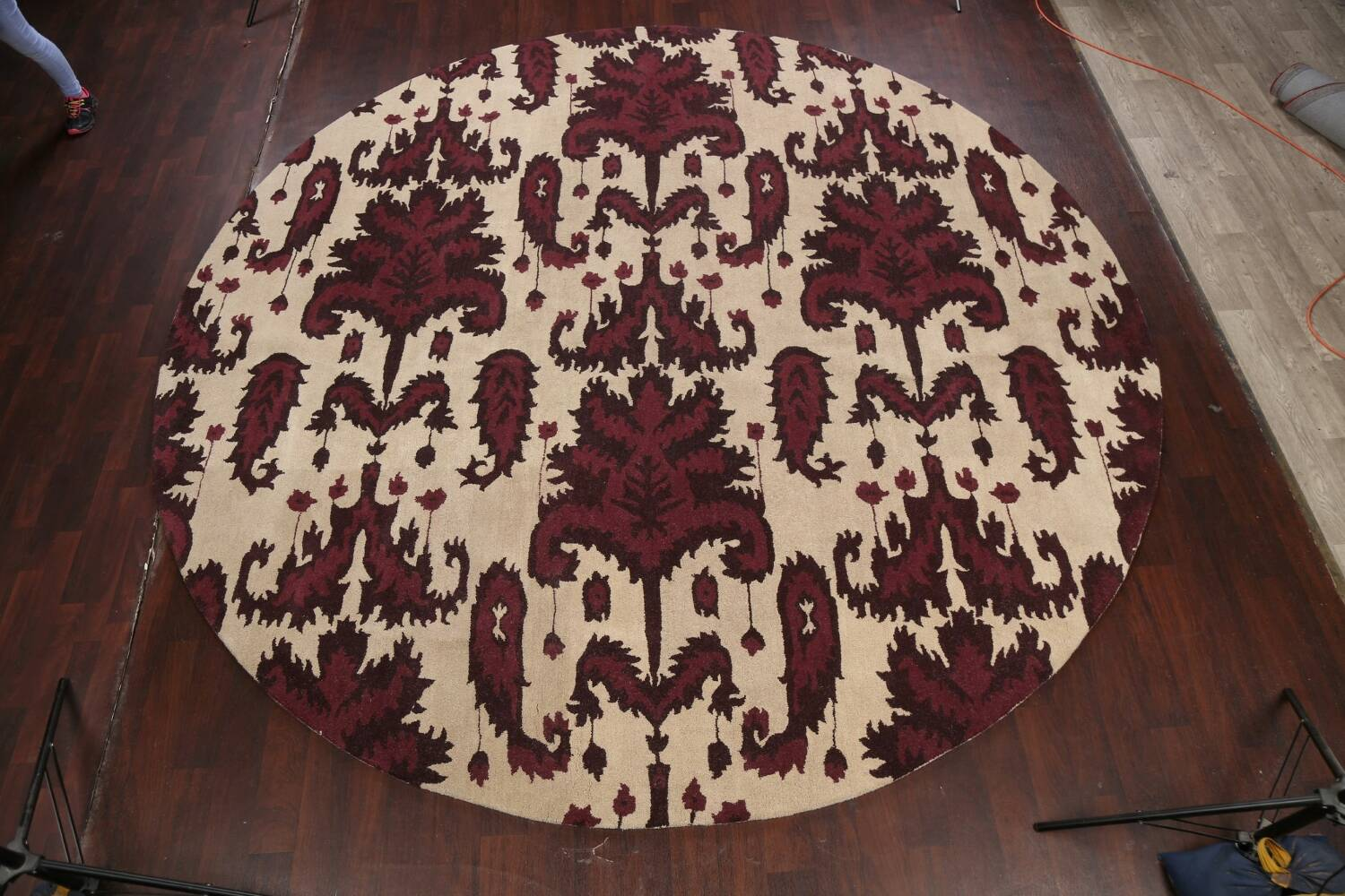 Abstract Round Rug 12x12 image 2
