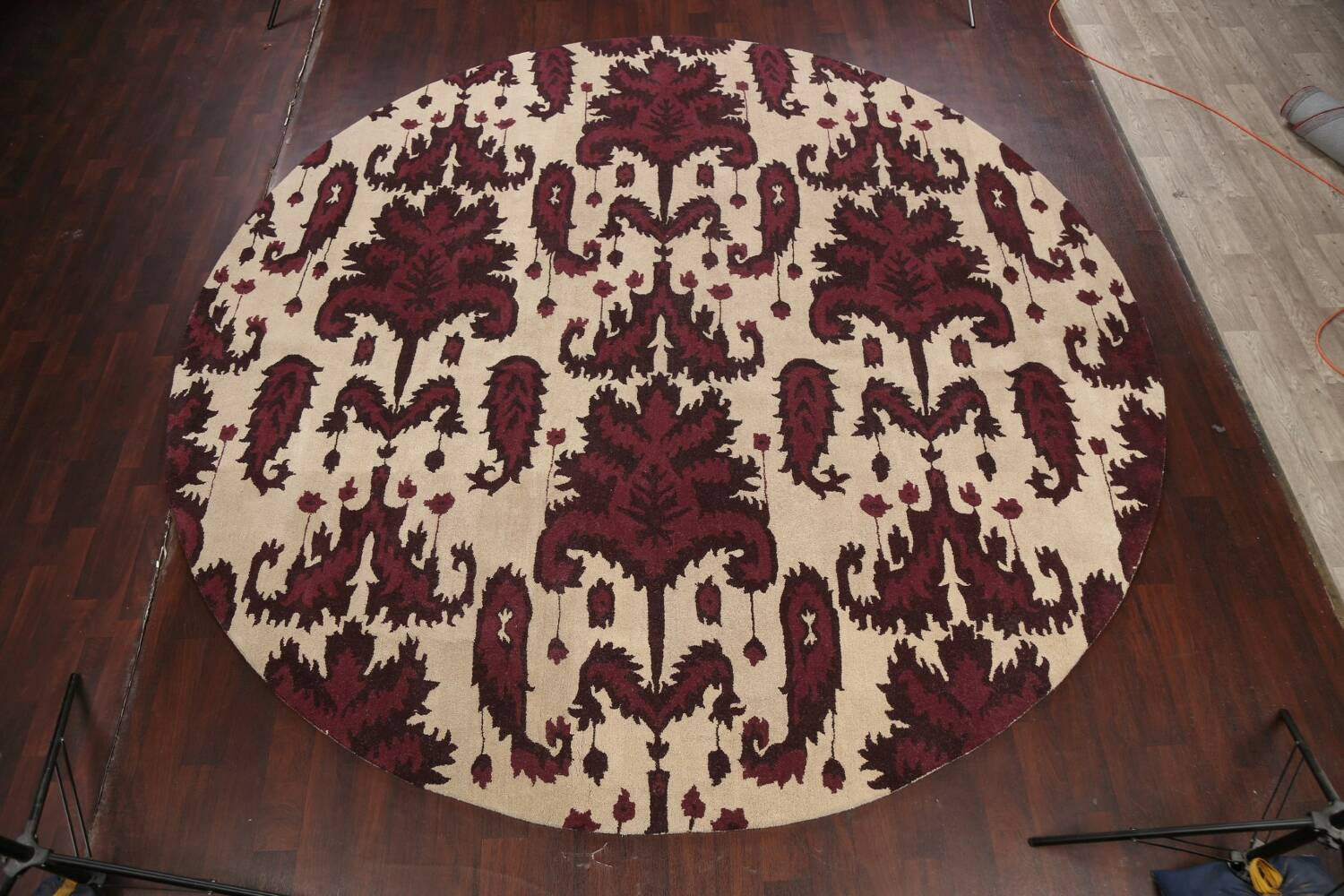 Abstract Round Rug 12x12 image 10