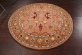 Floral Round Rug 6x6 image 9