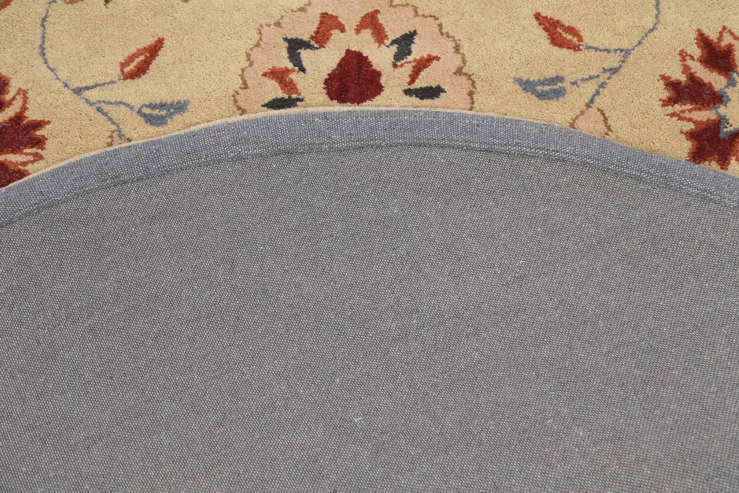 Floral Round Rug 6x6 image 8