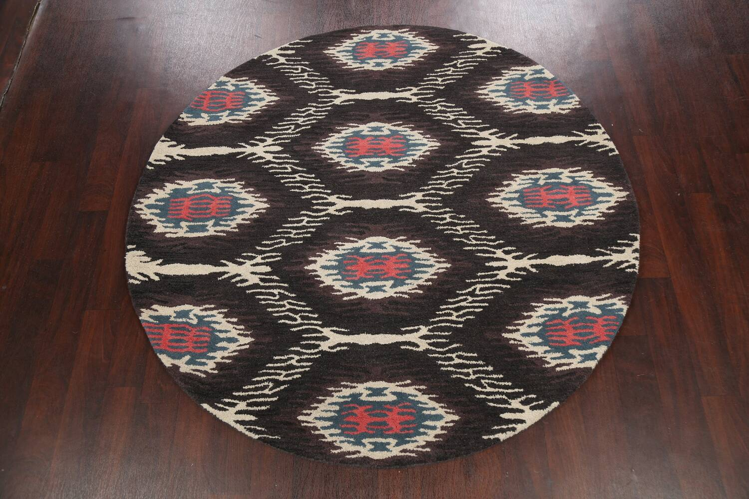 Abstract Round Rug 6x6 image 2