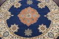 Floral Round Rug 6x6 image 3