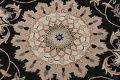 Floral Round Rug 8x8 image 4