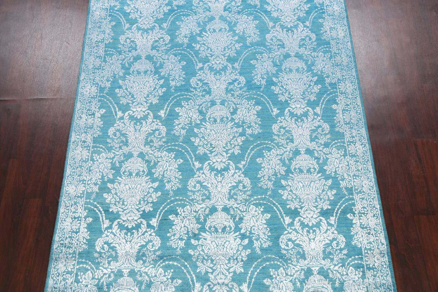 All-Over Floral Art & Craft Oriental Area Rug 6x9 image 3