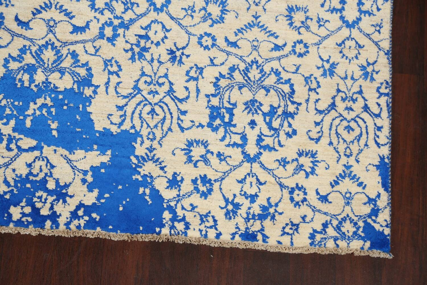 All-Over Distressed Art & Craft Oriental Area Rug 6x9 image 5