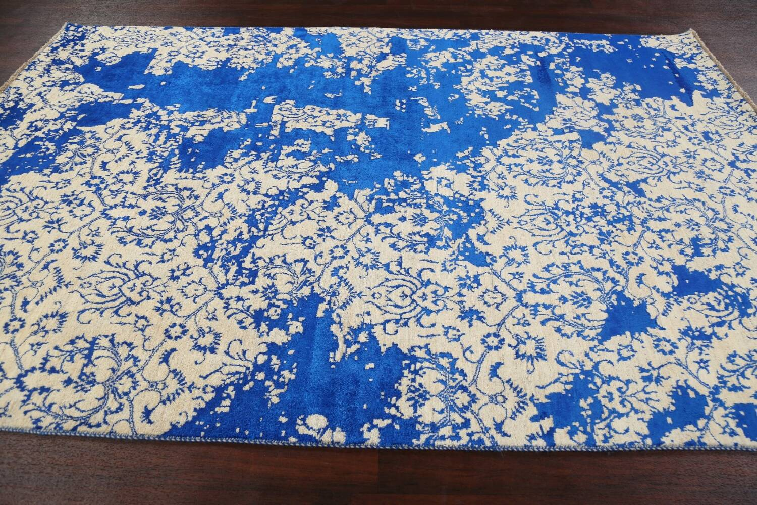 All-Over Distressed Art & Craft Oriental Area Rug 6x9 image 13
