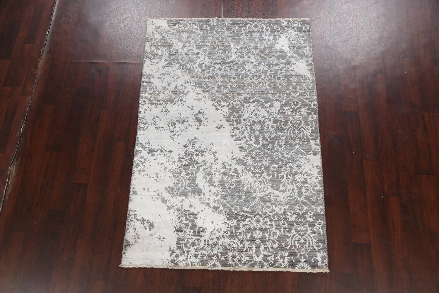 All-Over Distressed Art & Craft Oriental Area Rug 5x7 image 2
