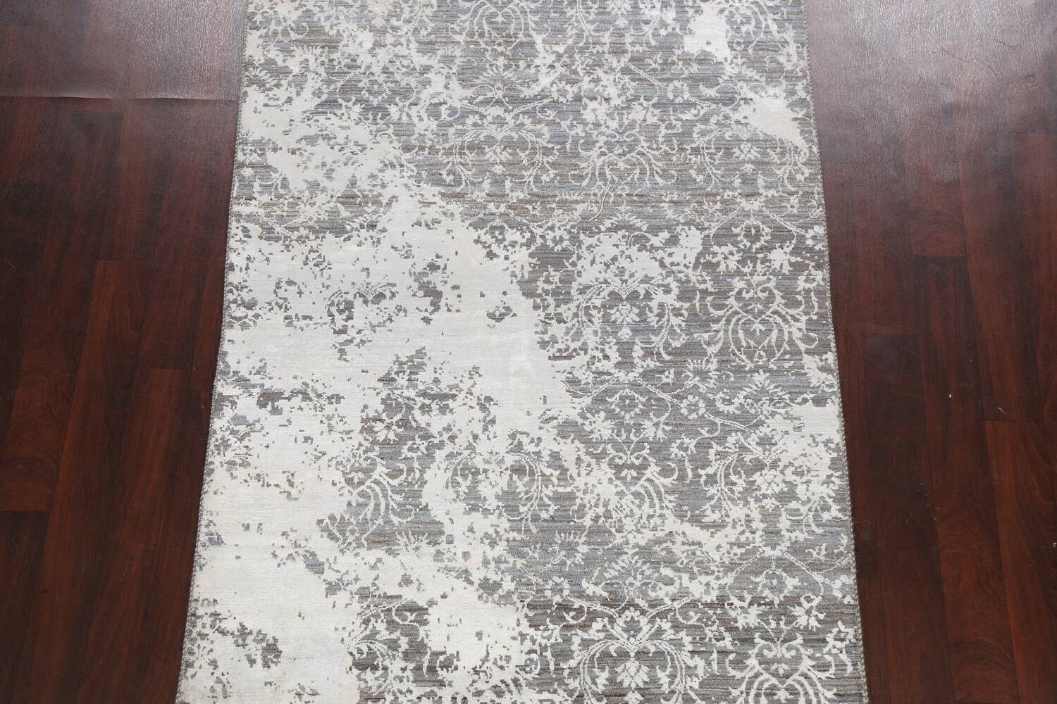 All-Over Distressed Art & Craft Oriental Area Rug 5x7 image 3