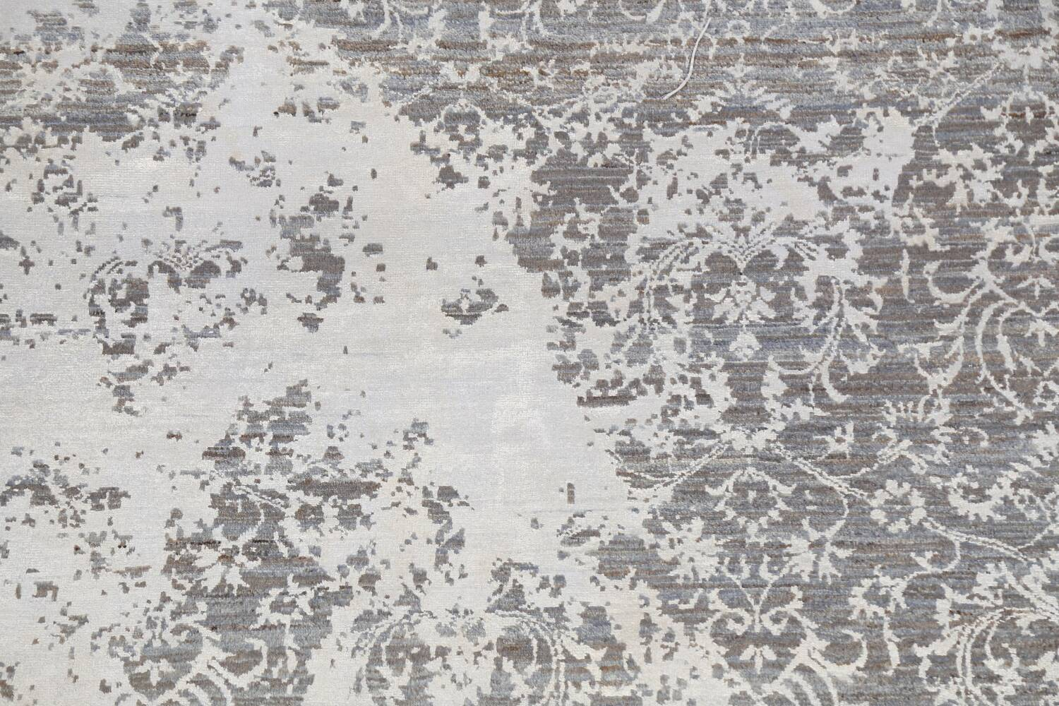 All-Over Distressed Art & Craft Oriental Area Rug 5x7 image 4