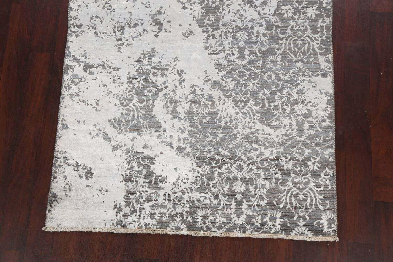 All-Over Distressed Art & Craft Oriental Area Rug 5x7 image 8