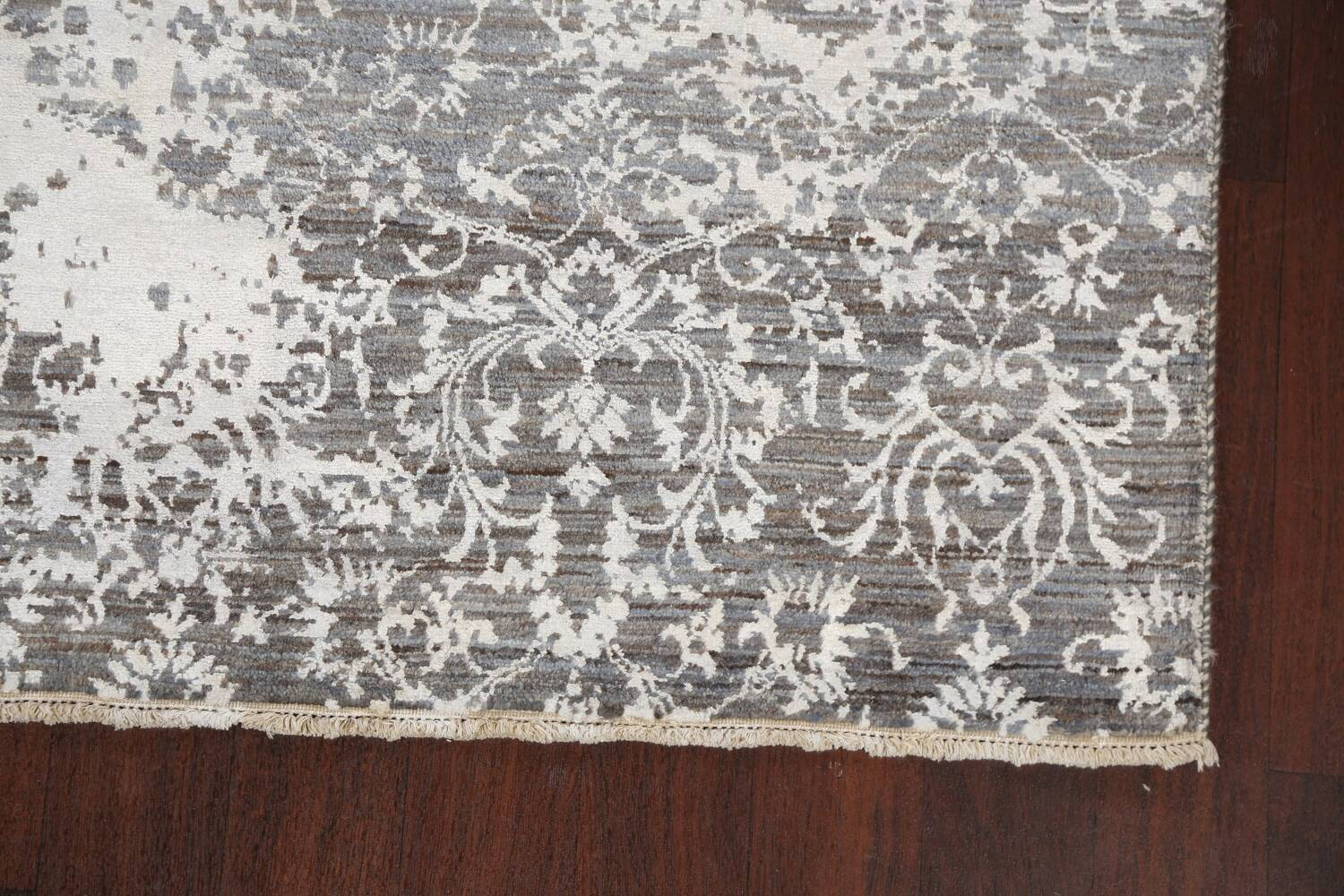 All-Over Distressed Art & Craft Oriental Area Rug 5x7 image 5