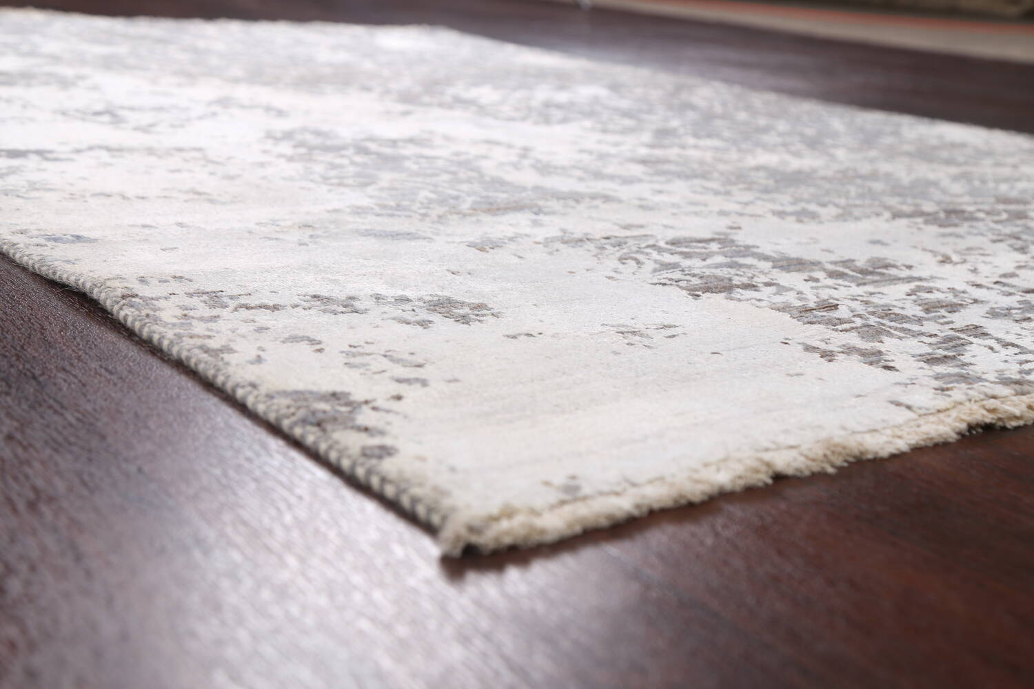 All-Over Distressed Art & Craft Oriental Area Rug 5x7 image 6